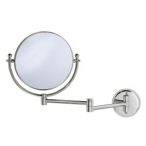 Gatco 15 inch x 12 inch Framed Mirror with Swing Arm in Chrome by Gatco