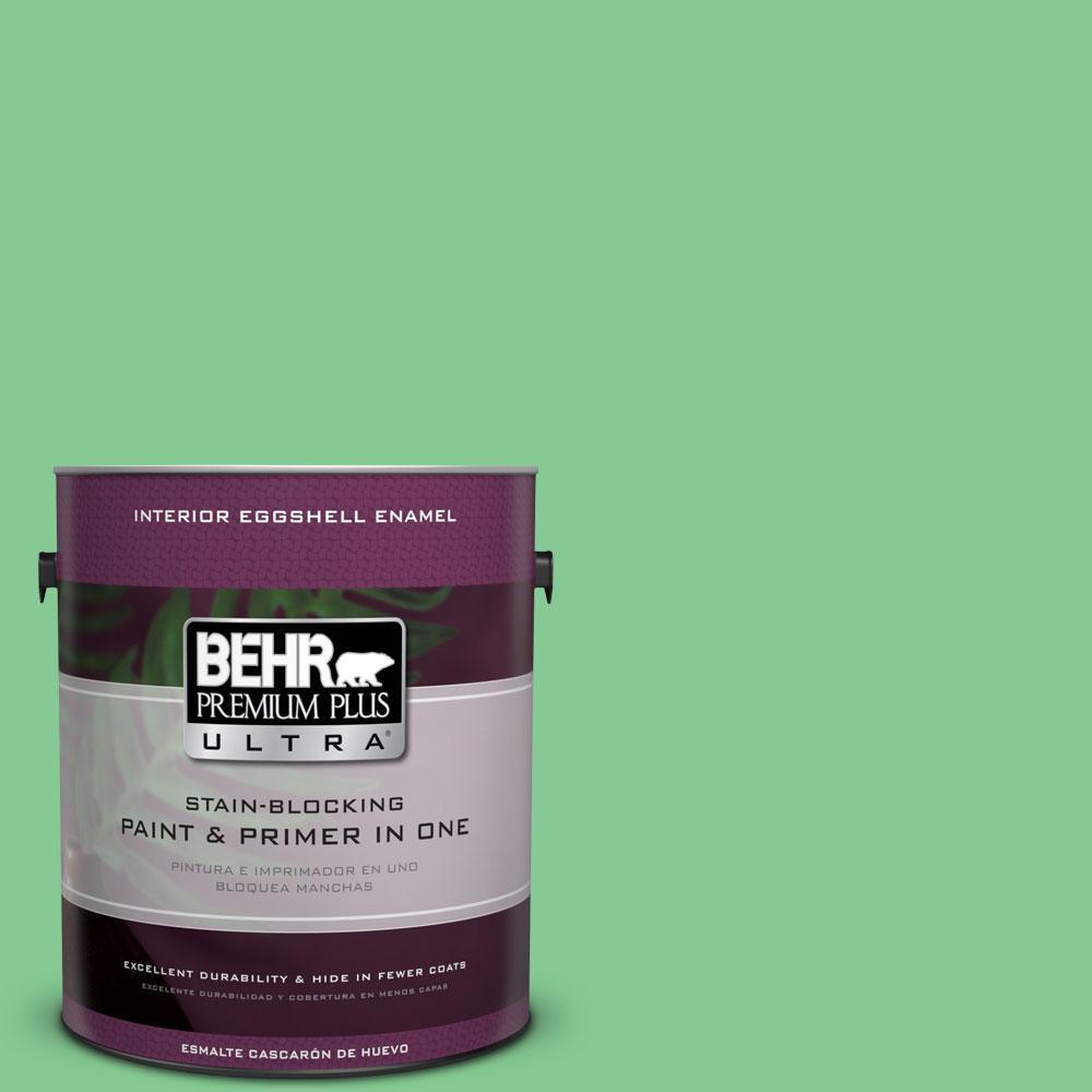 BEHR Premium Plus Ultra 1-gal. #P400-4 Good Luck Eggshell Enamel Interior Paint