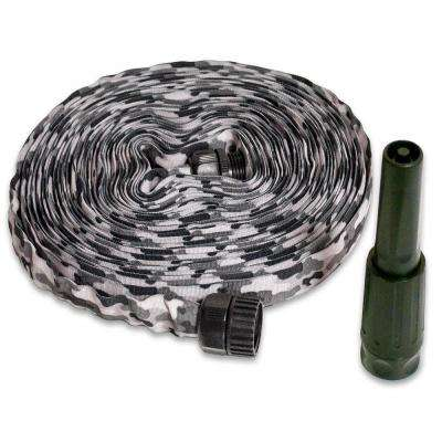 2 in. Dia x 50 ft. HydroHose Designer Series with Adjustable Nozzle in Grey Camo