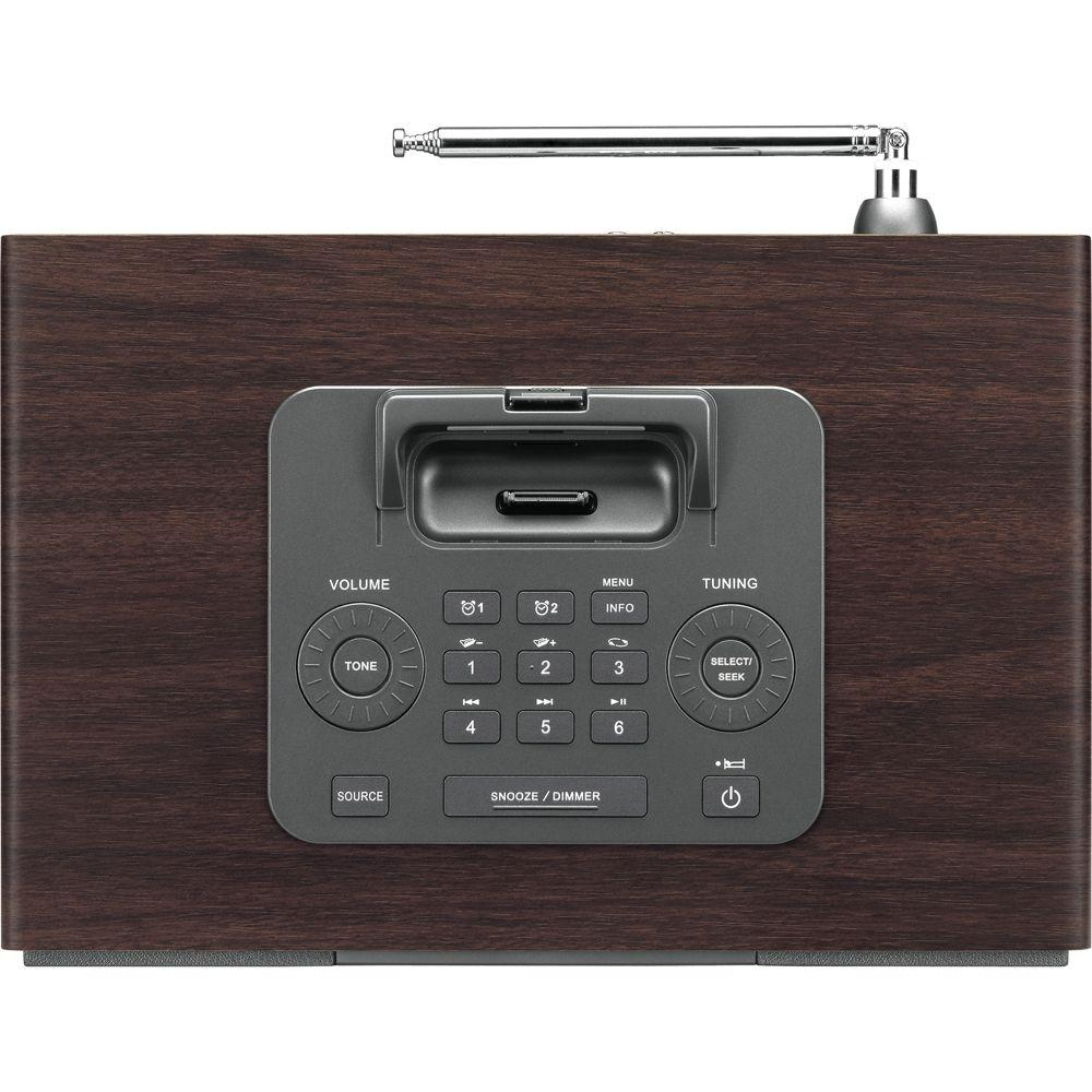 Sangean Table-Top Speaker System with AM/FM-RDS Radio and iPod Dock