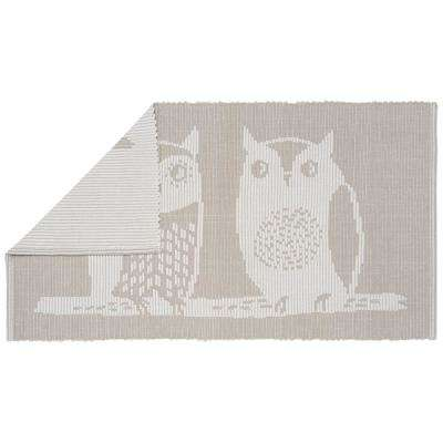 Jacquard Hoos There 34 in. x 20 in. Floor Mat