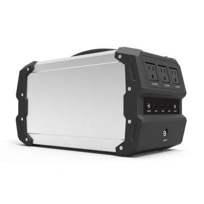 400-Watt Lithium Polymer/Solar/Car Powered Portable Generator