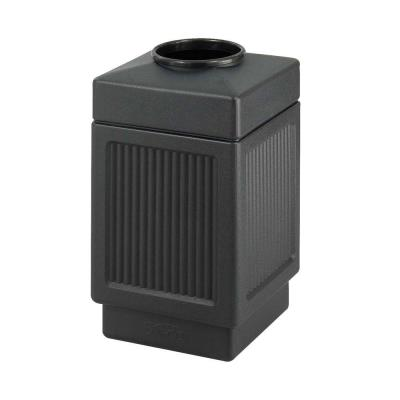 38 Gal. Indoor/Outdoor Square Shape Receptacle