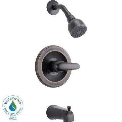 Single-Handle Tub and Shower Faucet Trim Kit in Oil Rubbed Bronze (Valve Not Included)