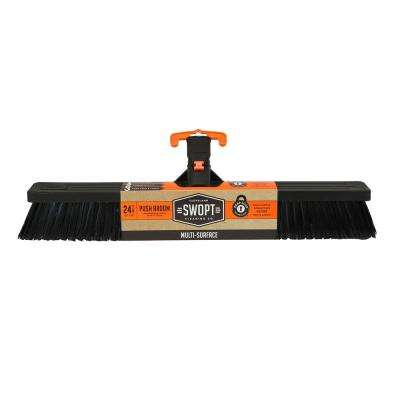 24 in. Standard Multi-Surface Push Broom Head
