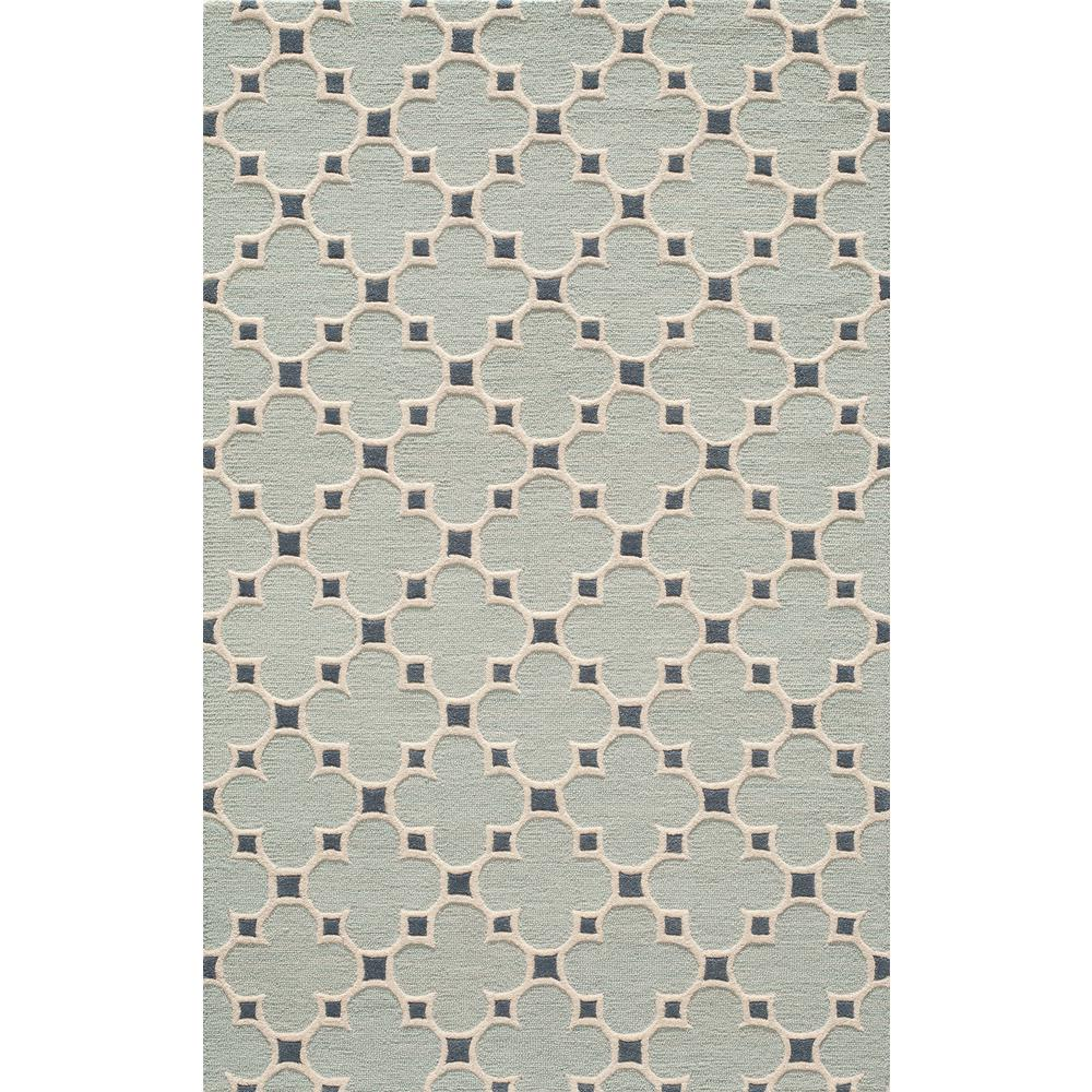 Dunes Blue 2 ft. x 3 ft. Indoor Area Rug