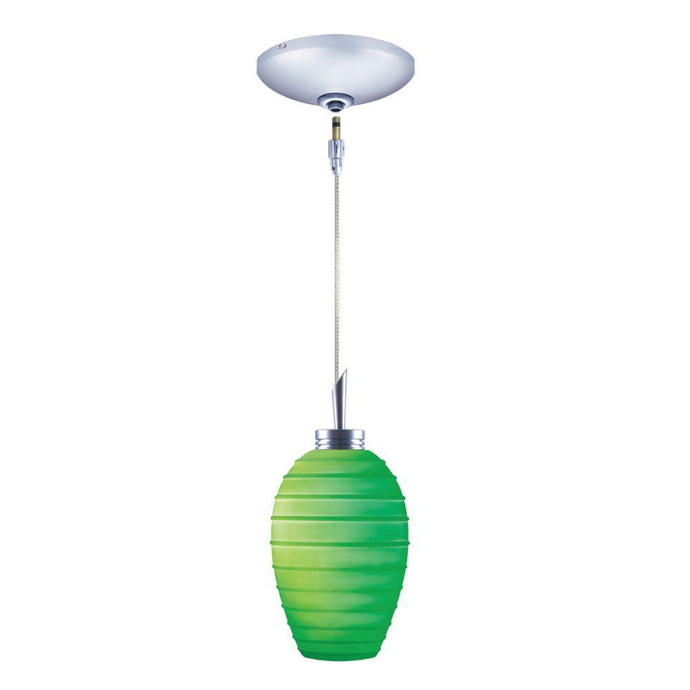 Low Voltage Quick Adapt 3-1/4 in. x 104-3/4 in. Emerald Pendant