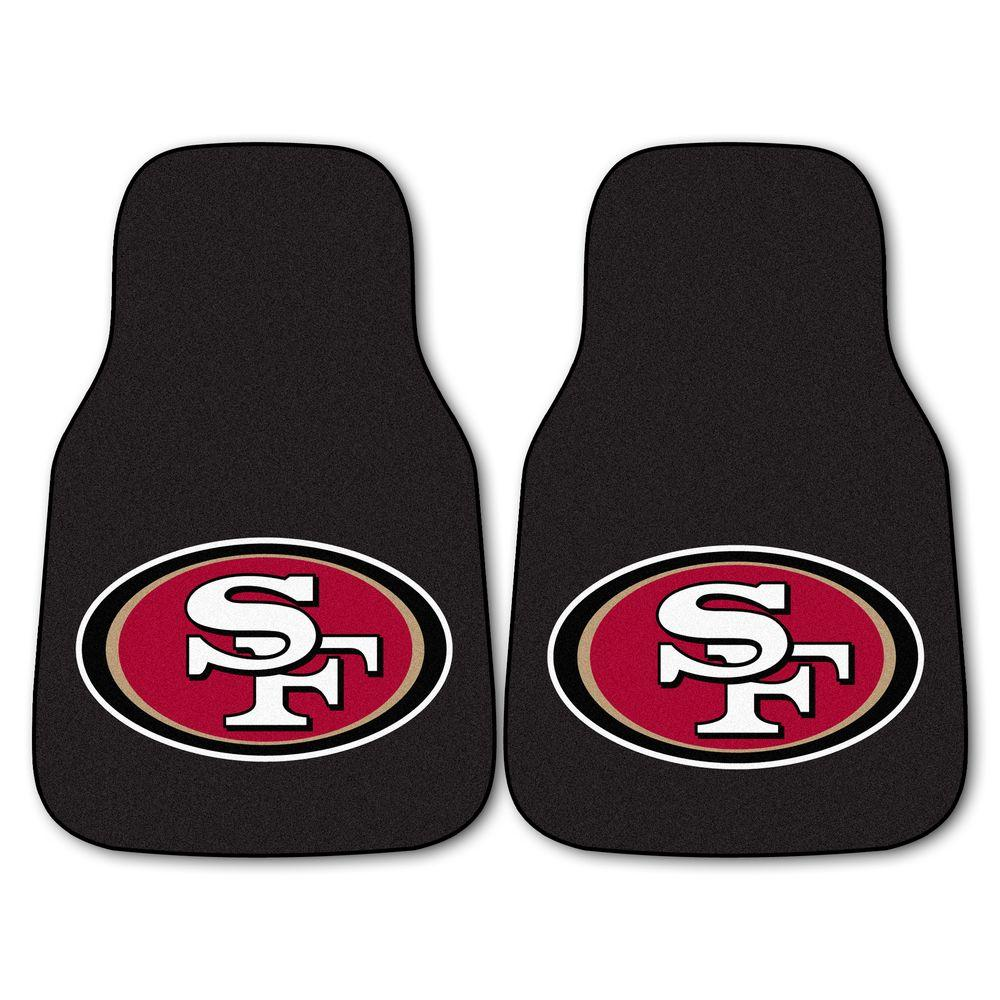 Fanmats San Francisco 49ers 18 In X 27 In 2 Piece