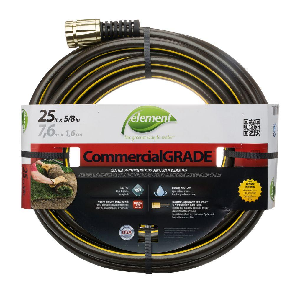 Element IndustrialPRO 5/8 in. Dia. x 25 ft. Water Hose