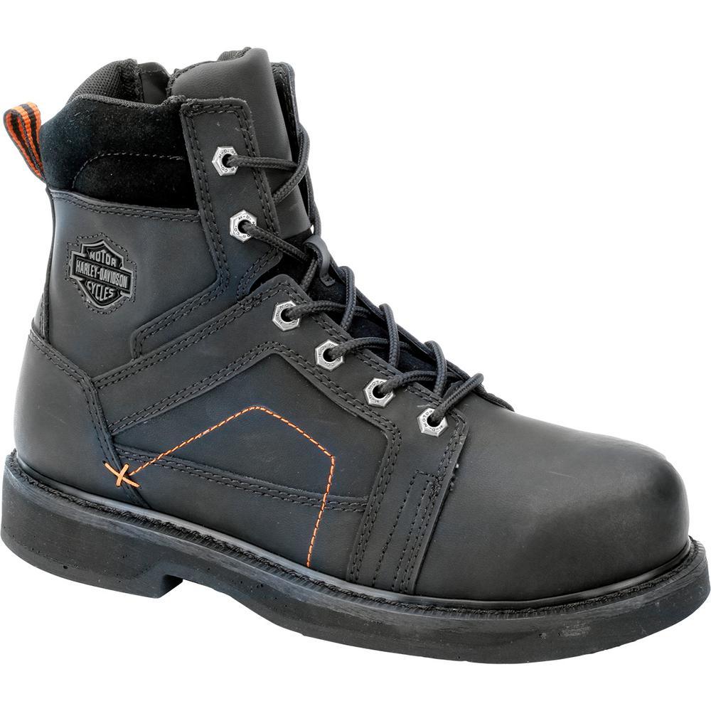 f1166c68800e Harley-Davidson Jason Men s 8.5 M Black Steel Toe Boot-D93120 - The ...
