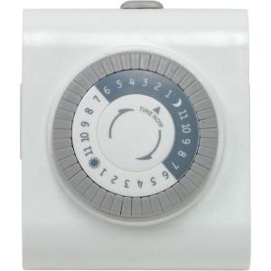 white bathroom images defiant 15 amp 24 hour indoor in heavy duty timer 15075