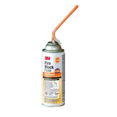 12 oz. Orange Fire Block Foam Specialty Sealant