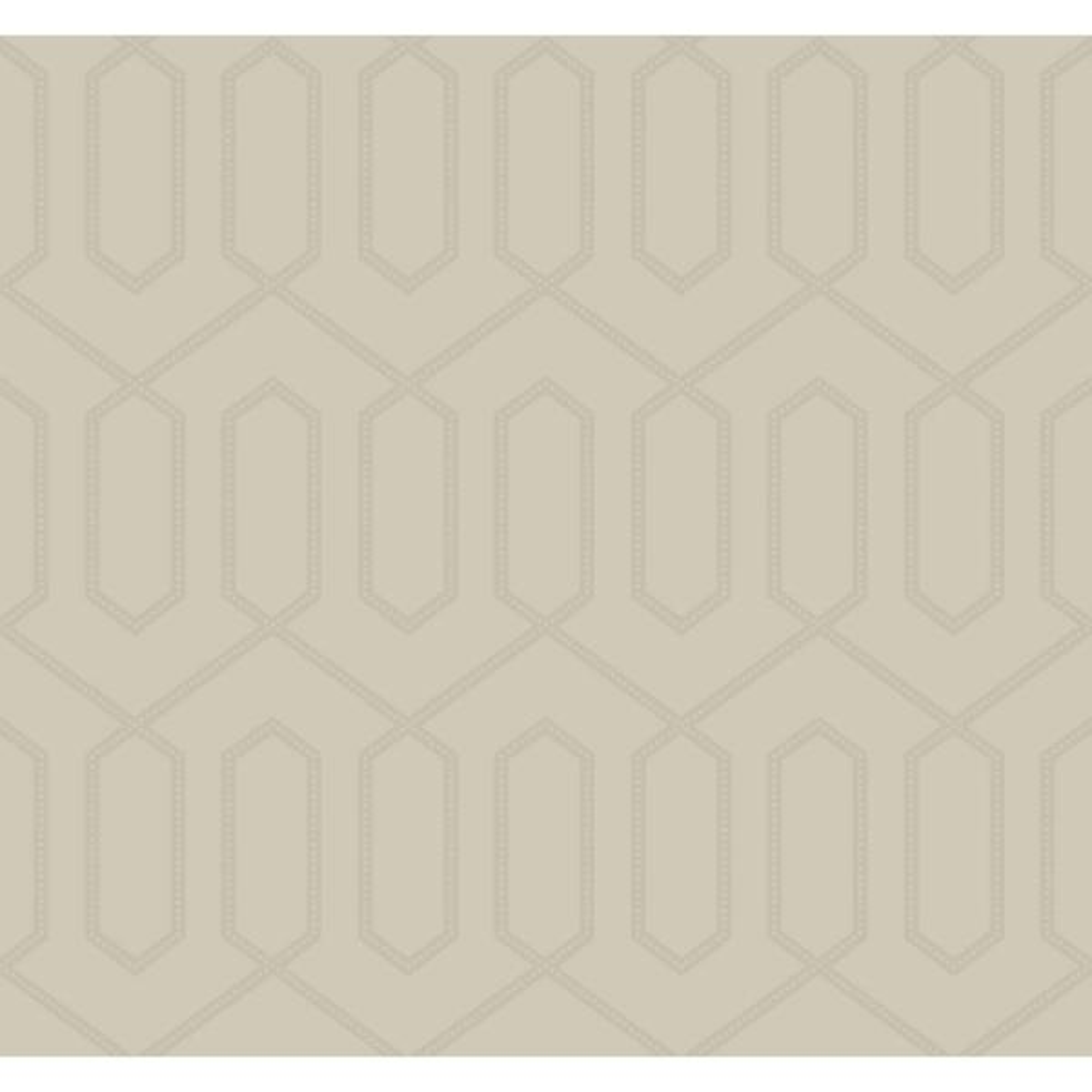 York Wallcoverings DwellStudio Dotted Trellis Wallpaper