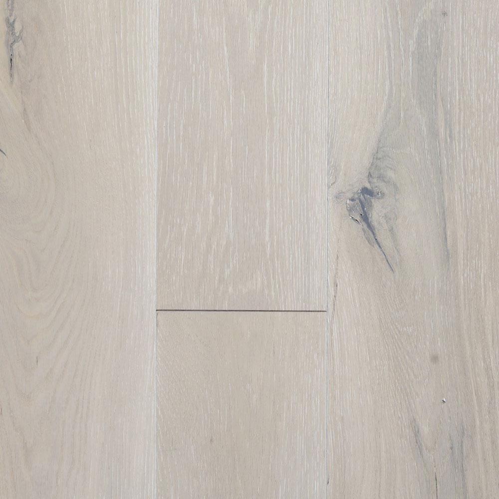 Blue Ridge Hardwood Flooring Take Home Sample - Castlebury French Linen Euro Sawn White Oak Solid Hardwood Flooring - 5 in. x 7 in.