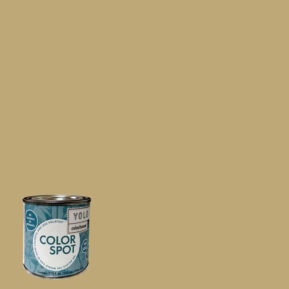 YOLO Colorhouse 8 oz. Stone .02 ColorSpot Eggshell Interior Paint Sample-DISCONTINUED