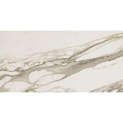 Impero Calacatta Oro 12 in. x 24 in. Porcelain Floor and Wall Tile (11.63 sq. ft. / case)