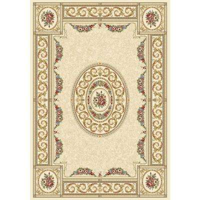 Winifred Ivory 4 ft. x 6 ft. Indoor Area Rug