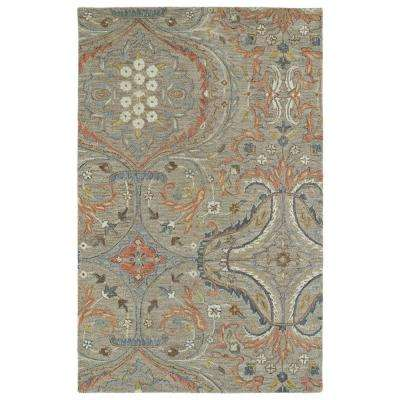 Helena Taupe 8 ft. x 10 ft. Area Rug