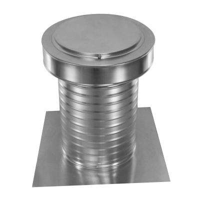 9 in. Dia Keepa Vent an Aluminum Roof Vent for Flat Roofs