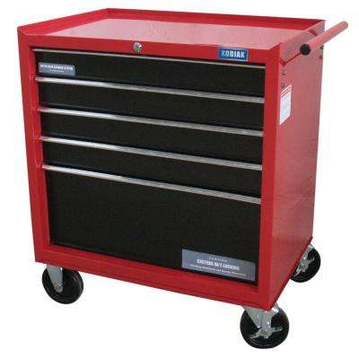 26 in. 5-Drawer Rolling Tool Cabinet