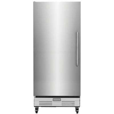Commercial 17.9 cu. ft. Food Service Grade Upright Freezer in Stainless Steel, ENERGY STAR