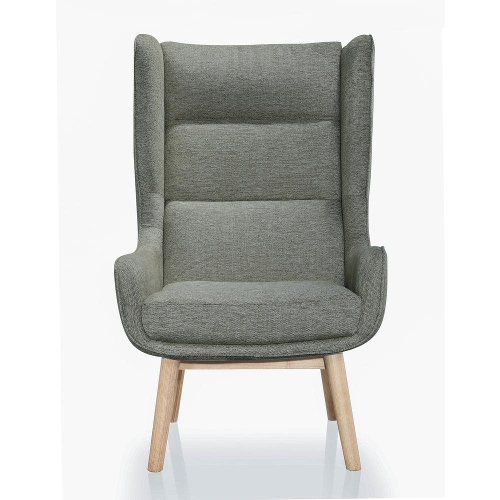 Graphite Gray Sampson Accent Chair