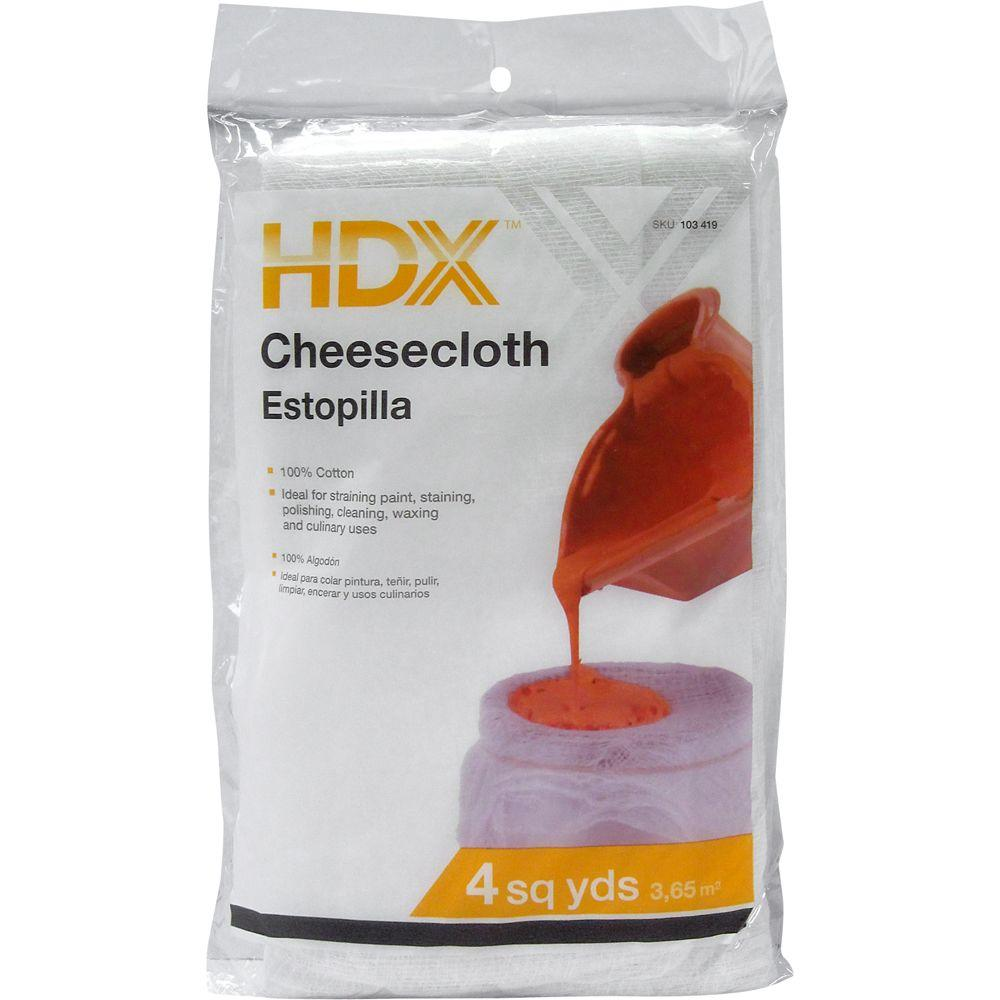 HDX 4 sq. yds. Cotton Cheesecloth