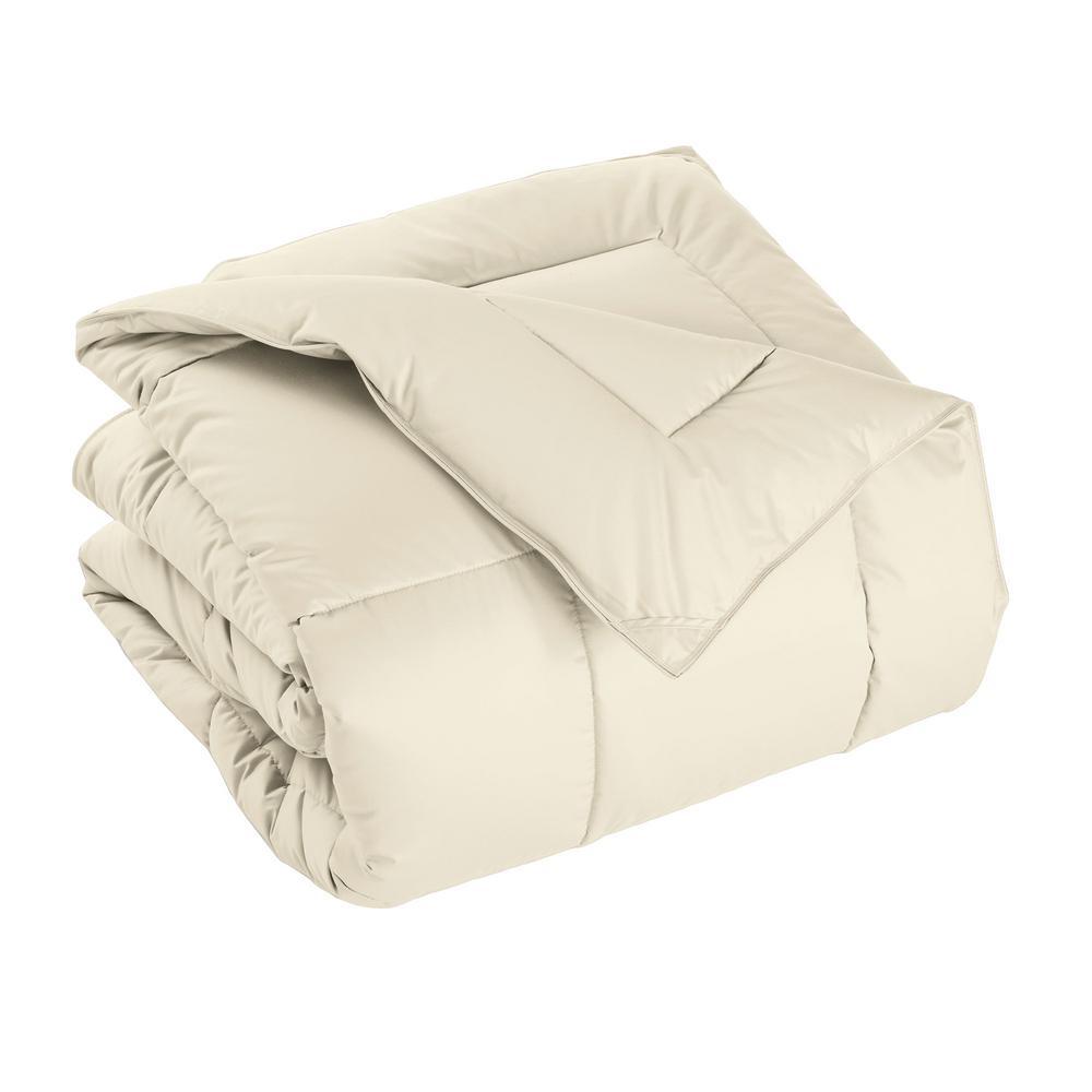 PrimaLoft Deluxe Extra Warmth Ivory Twin Down Alternative Comforter