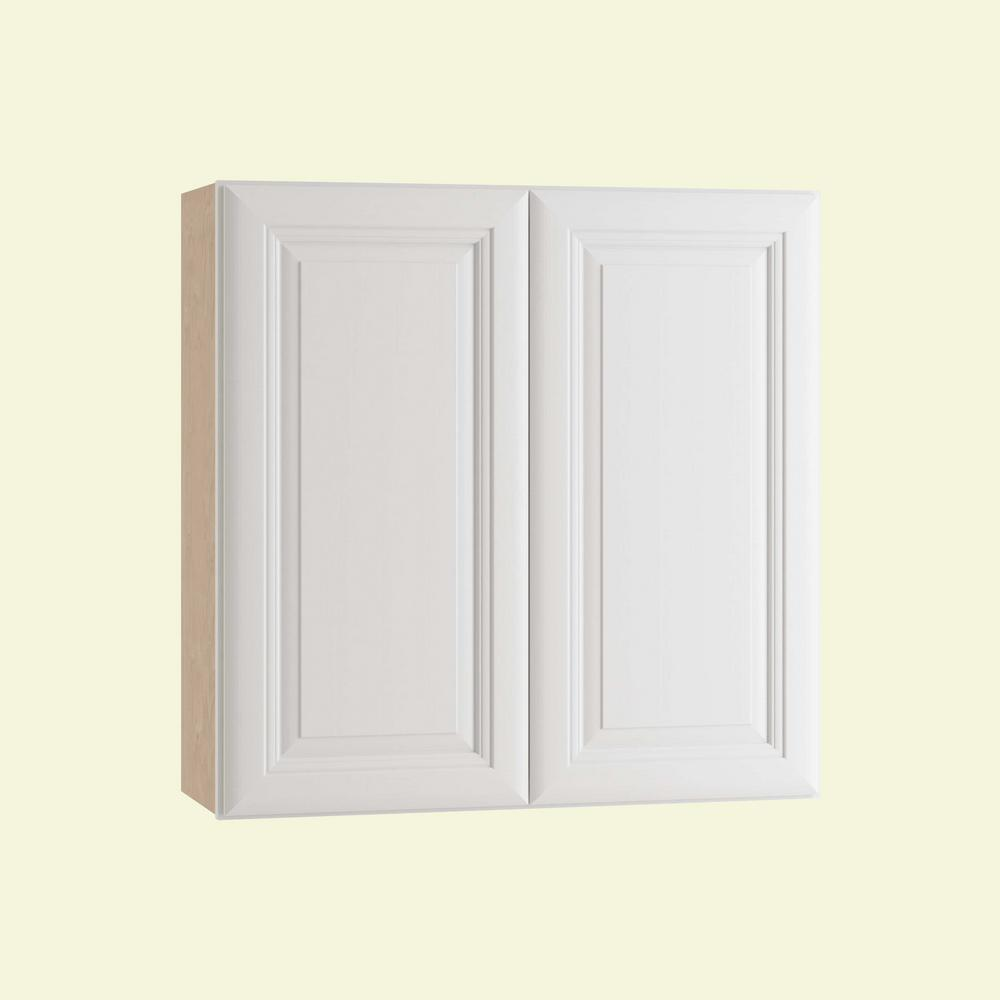 Brookfield Assembled 30x36x12 in. Double Door Wall Kitchen Cabinet in Pacific