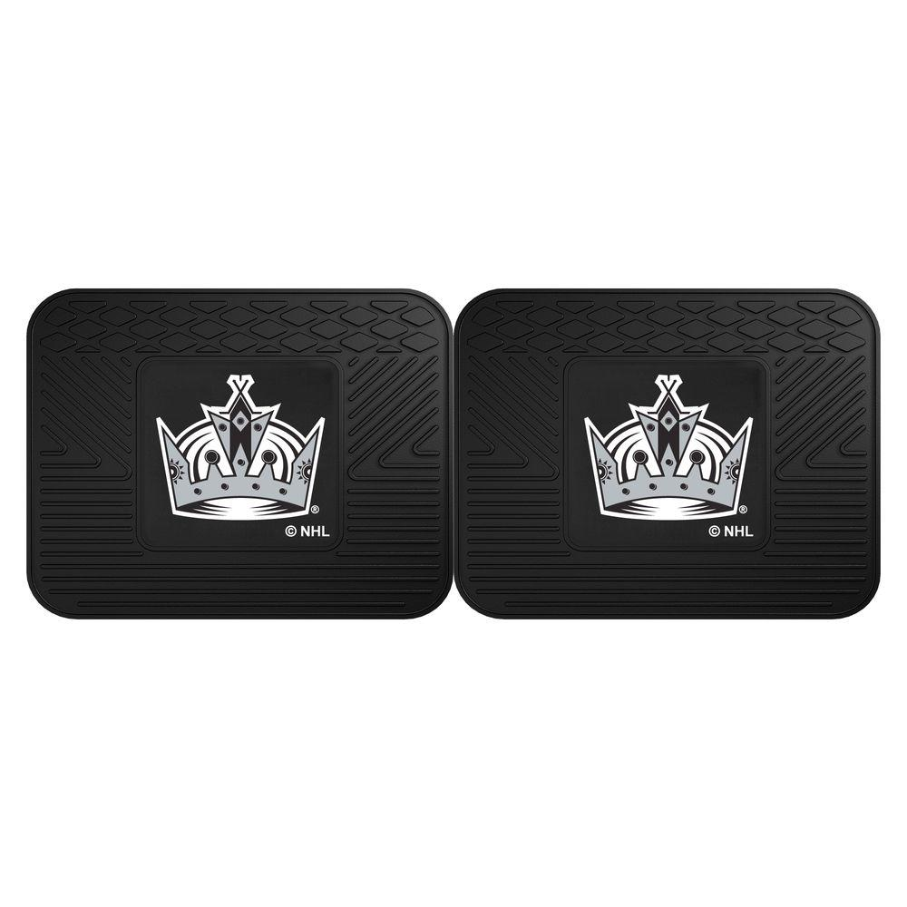 NHL Los Angeles Kings Black Heavy Duty 14 in. x 17