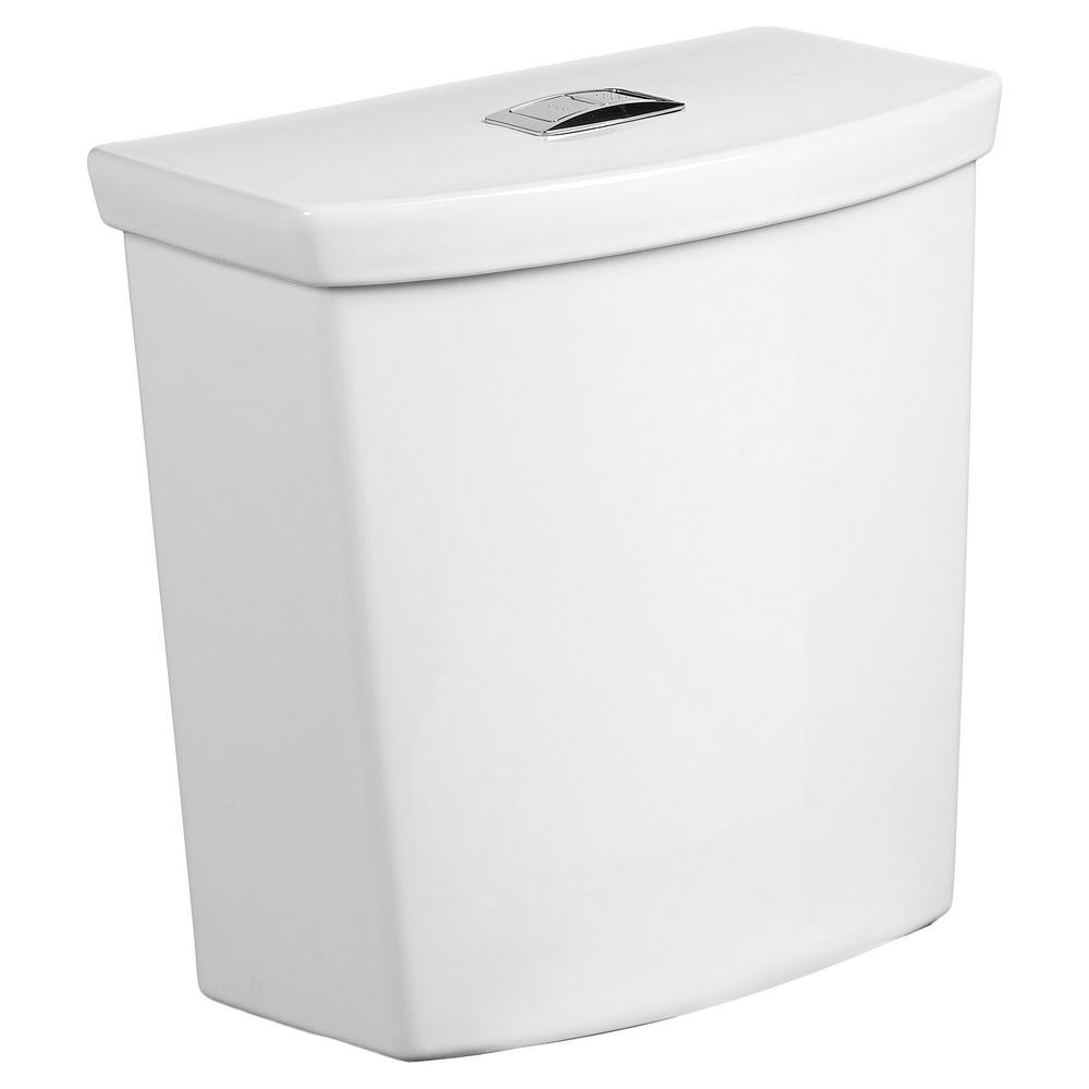 American Standard H2option 0 92 1 28 Gpf Dual Flush Toilet Tank Only In White 4133a218 020 The Home Depot