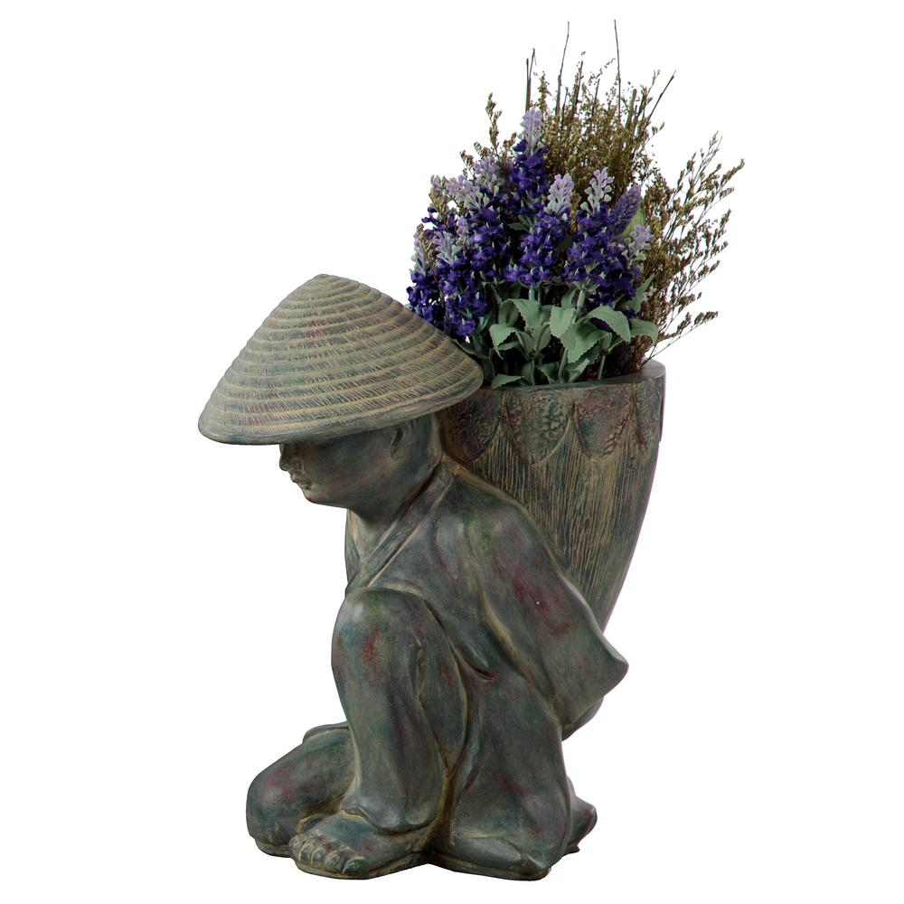 Global Decor Moves Outdoors Bombay Outdoors: Bombay Outdoors Humble Planter-A100054