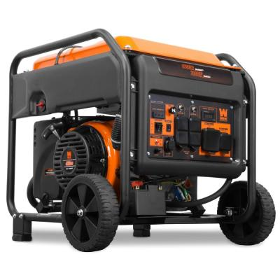 8750-Watt 120-Volt/240-Volt RV and Transfer-Switch-Ready Gas-Powered Electric Start Open Frame Inverter Generator, CARB