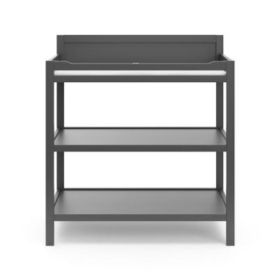 Alpine Gray Pine Wood Changing Table