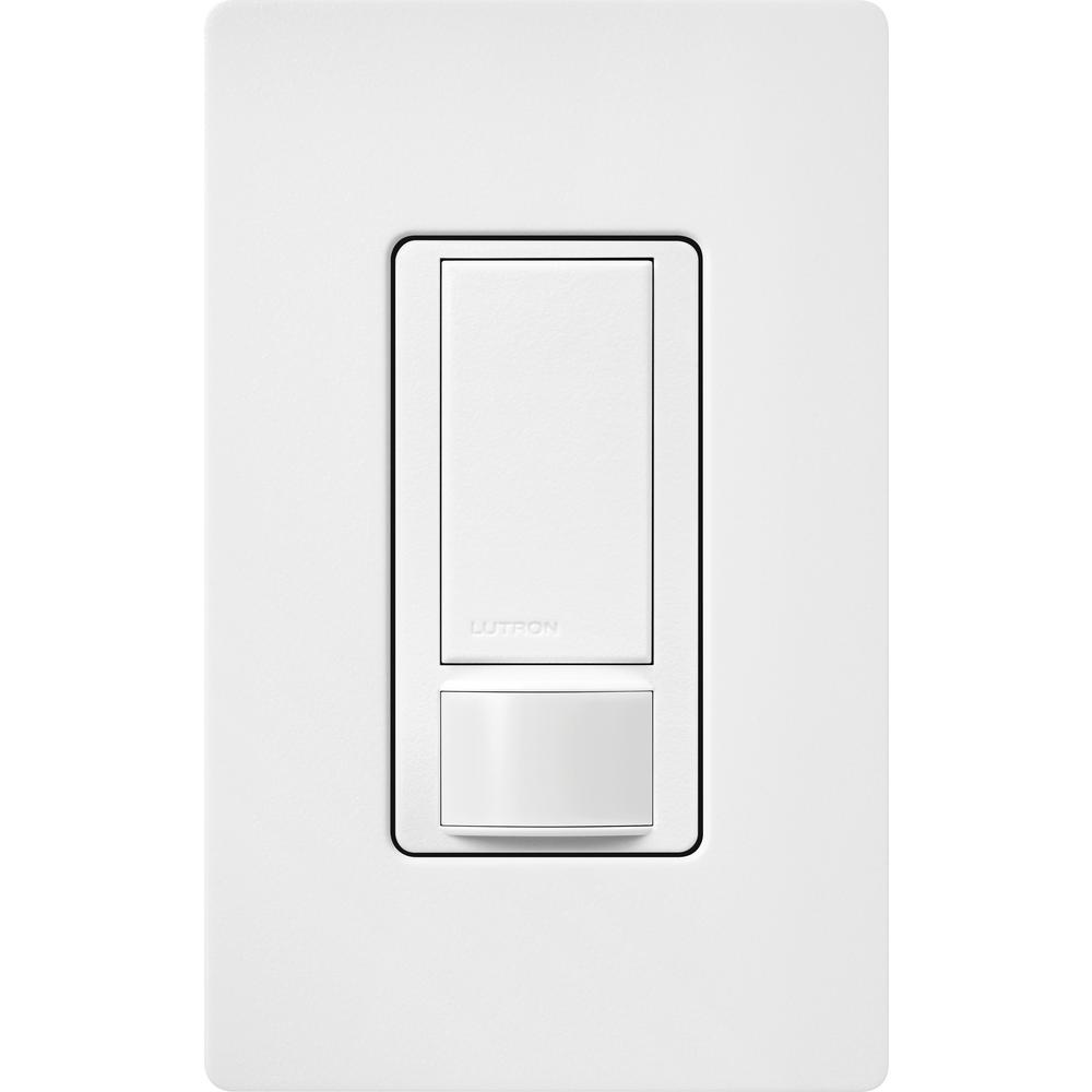 3 Pack Lutron MS-OPS5M-WH Maestro Sensor Switch 5A Single-Pole//Multi Location