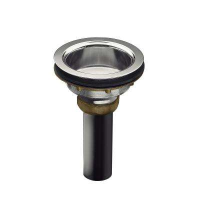 Duostrainer 4-1/2 in. Sink Strainer Body in Polished Chrome