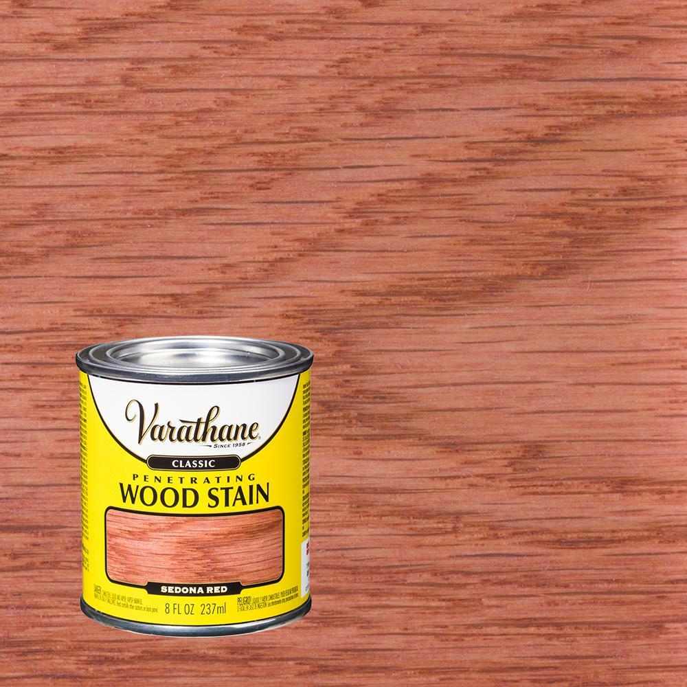 8 oz. Sedona Red Classic Wood Interior Stain