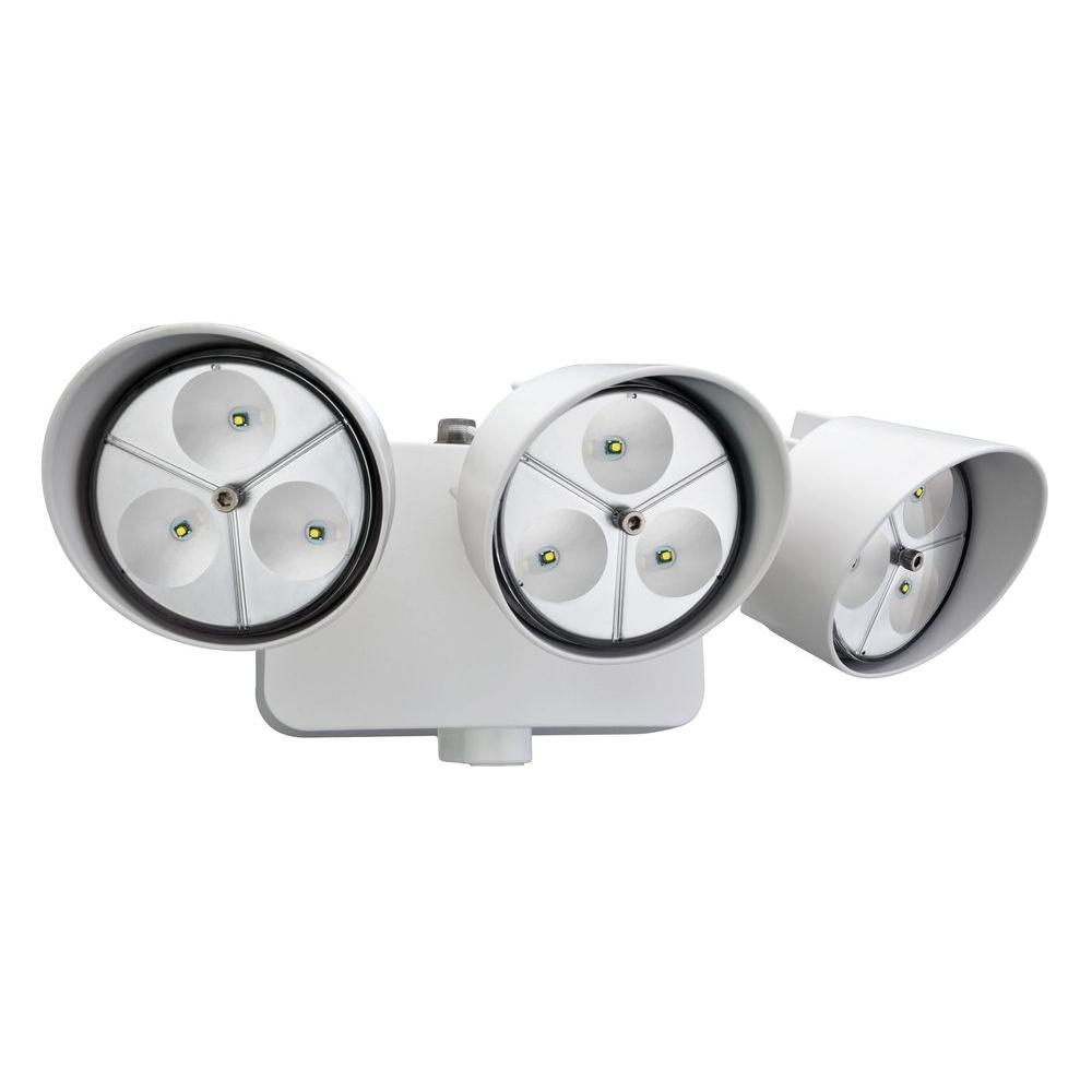 Led outdoor spot lighting outdoor designs lithonia lighting 3 head white outdoor led wall mount flood light workwithnaturefo