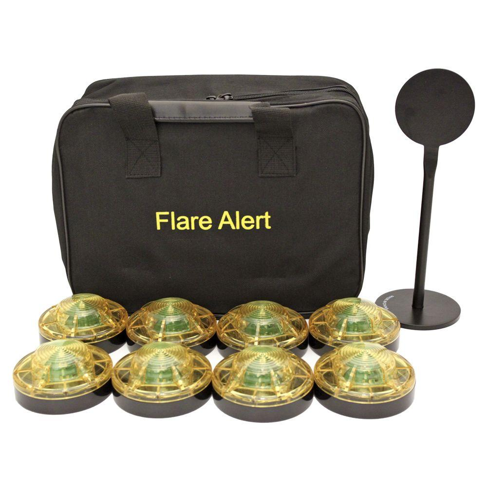 FlareAlert 1- Watt LED Large Yellow Beacon Pro Kit-DISCONTINUED