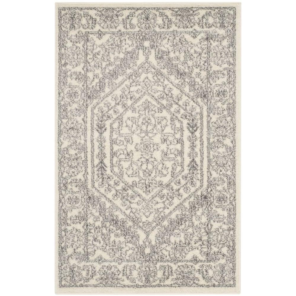 Safavieh Adirondack Ivory/Silver 2 ft. 6 in. x 4 ft. Area Rug