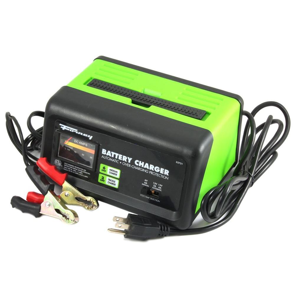 Auto Battery Charger : Forney amp volt trickle charger the home
