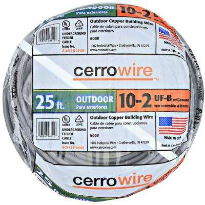10 2 Wire >> 10 2 Uf B Outdoor Electrical Wires Wire The Home Depot