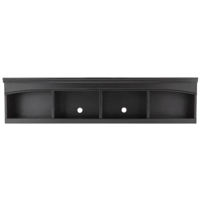 Edinburgh 13.5 in. H x 57 in. W Modular Center Bridge in Black