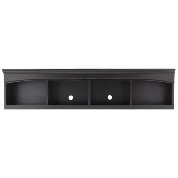 undefined Edinburgh 13.5 in. H x 57 in. W Modular Center Bridge in Black