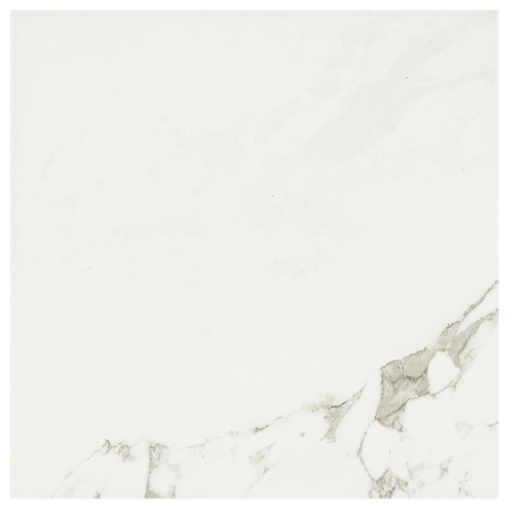 White Porcelain Tile Tile The Home Depot