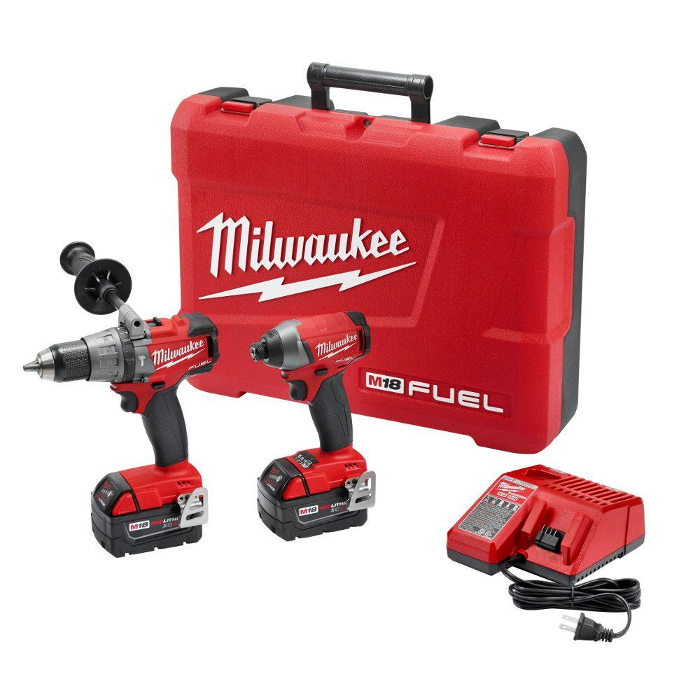 milwaukee m18 fuel 18 volt lithium ion brushless cordless hammer rh homedepot com