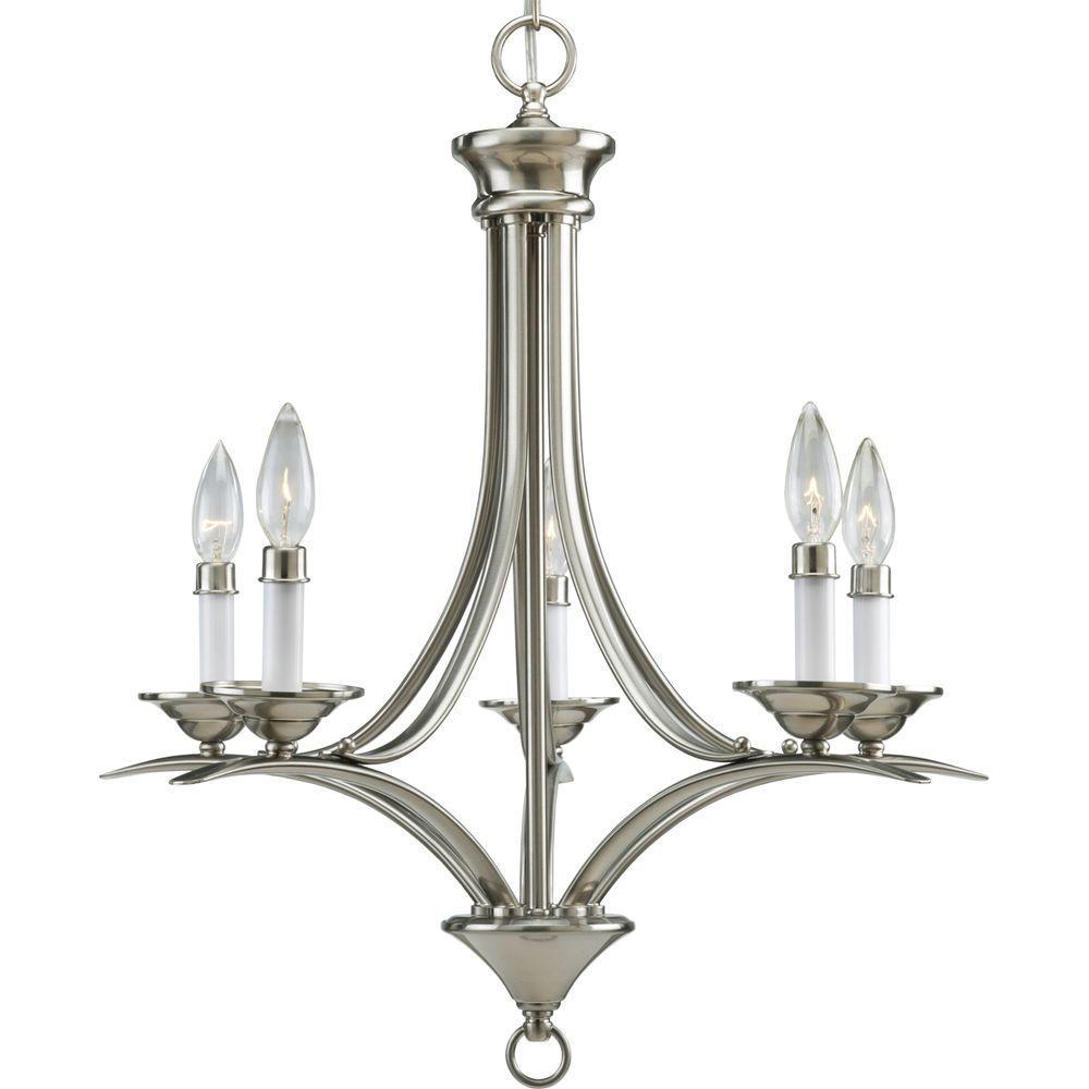 Light Antique Bronze Chandelier