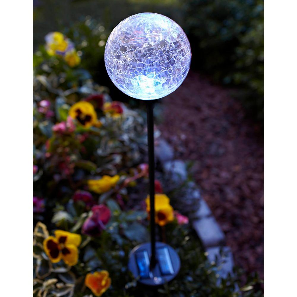 Gl Globe Pathway Stake Light 35 In