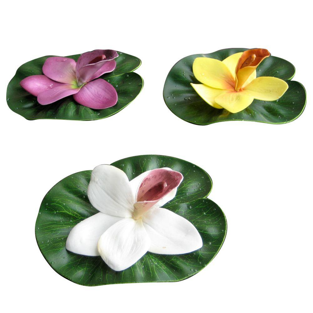 Total pond floating lily pad a16530 the home depot total pond floating lily pad izmirmasajfo