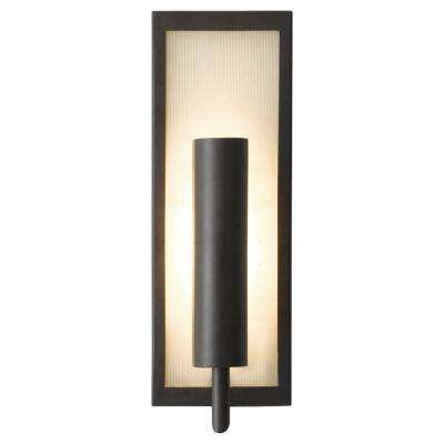 Mila 5 in. W Oil Rubbed Bronze Wall Sconce